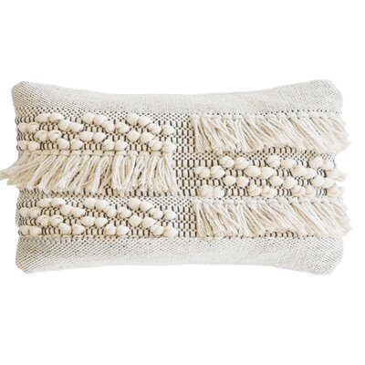 Zahra Cotton Lumbar Pillow
