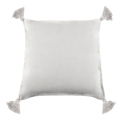 Montauk Cotton Throw Pillow Color: White