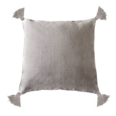 Montauk Linen Pillow Cover Color: Natural