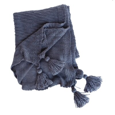 Helena Throw Color: Midnight