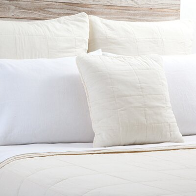 Antwerp Sham Size: 28 H x 28 W, Color: Cream