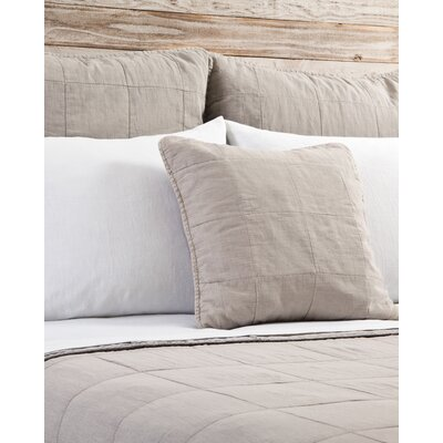 Antwerp Sham Size: 18 H x 18 W, Color: Natural