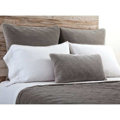 Brussels Coverlet Size: King, Color: Pewter
