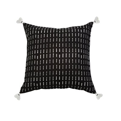 Dash 100% Cotton Throw Pillow