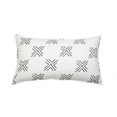 Arrow 100% Cotton Lumbar Pillow