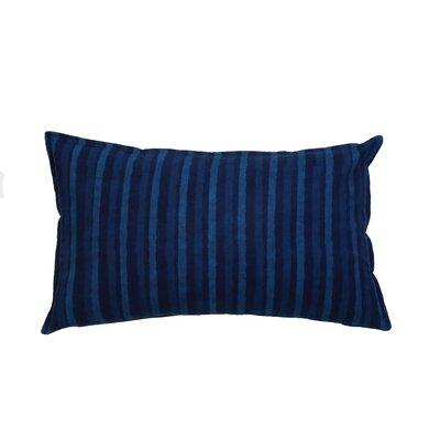 Stripes 100% Cotton Lumbar Pillow