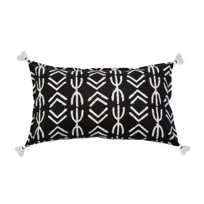 Spear 100% Cotton Lumbar Pillow