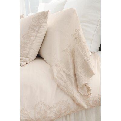Grace Pillow Case Color: Taupe