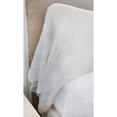 Grace Pillow Case Color: White