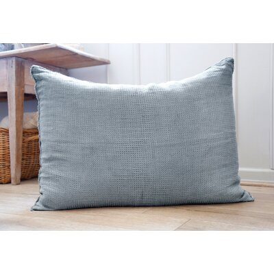 Venice Linen Throw Pillow Color: Dusty Blue