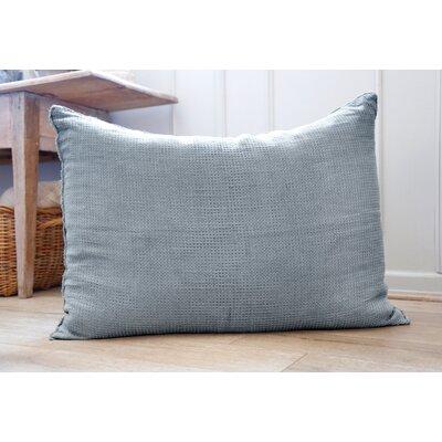 Venice Linen Throw Pillow Color: Dusty Blue