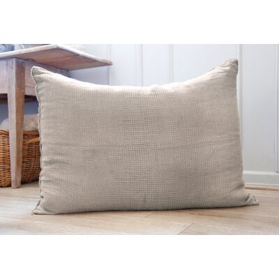 Venice Linen Throw Pillow Color: Taupe