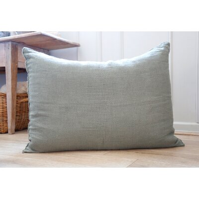 Venice Linen Throw Pillow Color: Moss