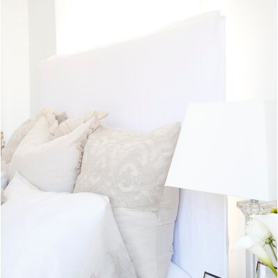 Slipcovered Panel Headboard Size: King