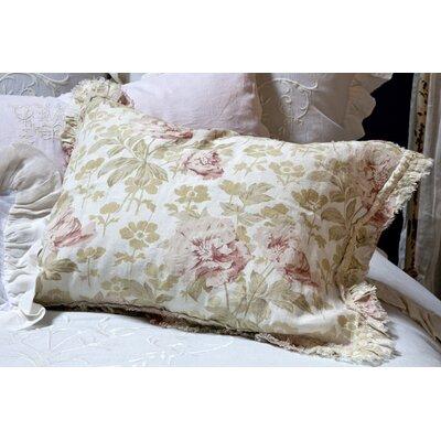 Sofia Linen Pillow Cover Color: Pink