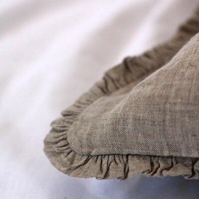 Classica Plain Sham Color: Gray, Size: Decorative