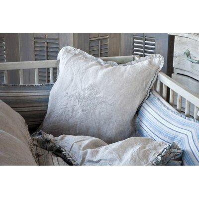 Classica Plain Sham Size: Decorative, Color: White
