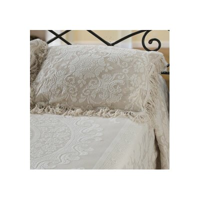 Elizabeth Pillow Sham Size: Standard, Color: Antique