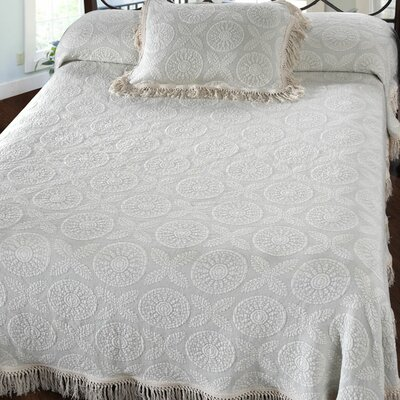 MAINE HERITAGE WEAVERS Heritage Bedspread - Size: Queen, Color: Antique at Sears.com