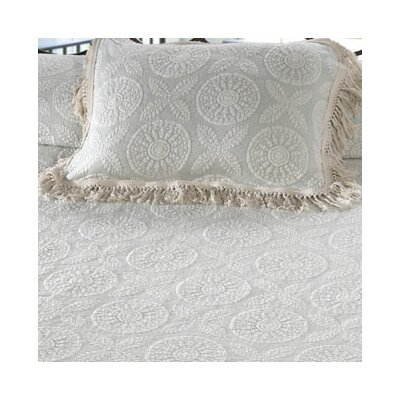 Heritage Pillow Sham Size: King, Color: Linen