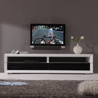 "Executive Remix 79"" TV Stand BM-629-WHT"