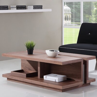 DJ Coffee Table Finish: Walnut