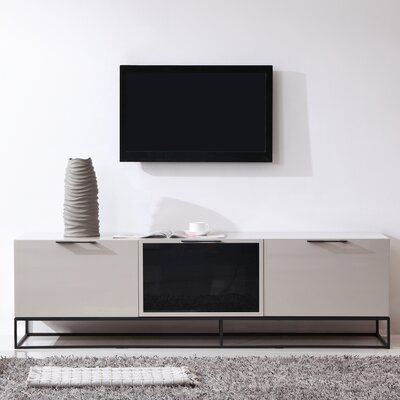 Animator 71 TV Stand Color: Cream