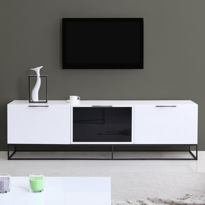 Animator 71 TV Stand Color: White