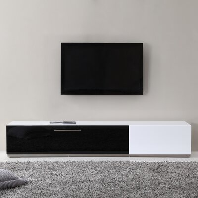 Producer 80 TV Stand Color: White