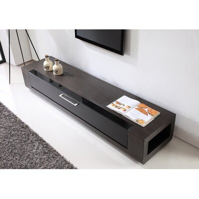 Editor Remix 79 TV Stand Color: Ebony