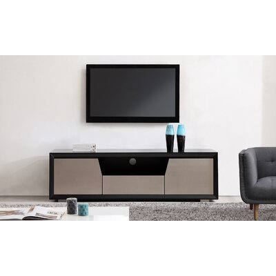 Esquire 75 TV Stand Color: Matte Black