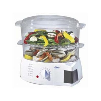 6 Quart Two Tiered Food Steamer