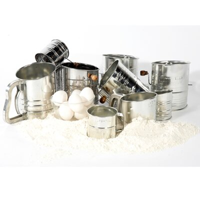 All-american 5-cup With 4-wire Crank Sifter