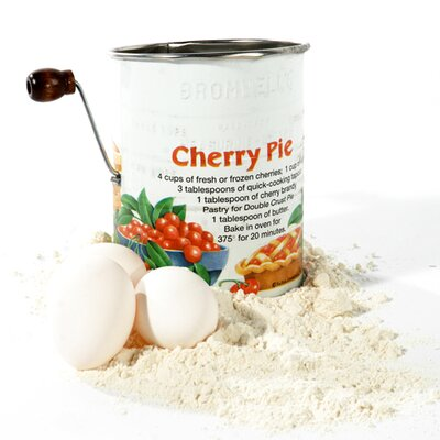 Cherry Pie 3-cup With 2-wire Crank Sifter