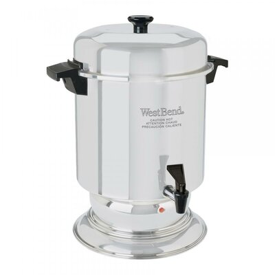Commercial Aluminum 55 Cup Coffee Urn 13500