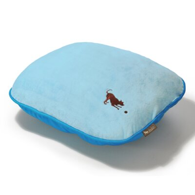 Cotton Candy Dog Pillow Color: Baby Blue