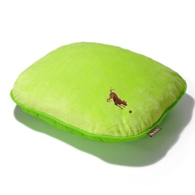 Cotton Candy Dog Pillow Color: Lime