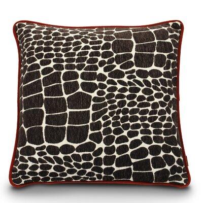 Kalahari Play Dog Pillow Color: Brown Giraffe/Sangria