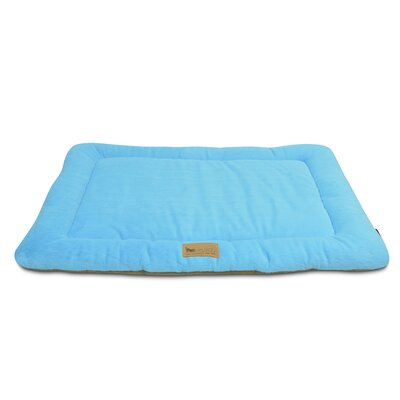 Chill Dog Pad Size: X-Small (20 W x 15 D), Color: Sea Foam / Hazelnut