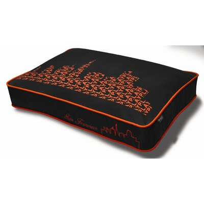 Cosmopolitan SFyline Rectangular Change-a-Cover in Orange Size: Small (28 x 20)
