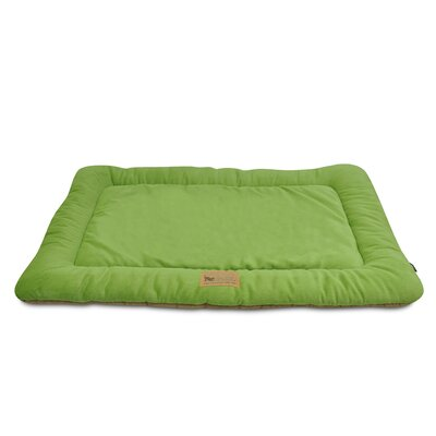 Chill Dog Pad Size: Medium (30 W x 20 D), Color: Pistachio / Hazelnut