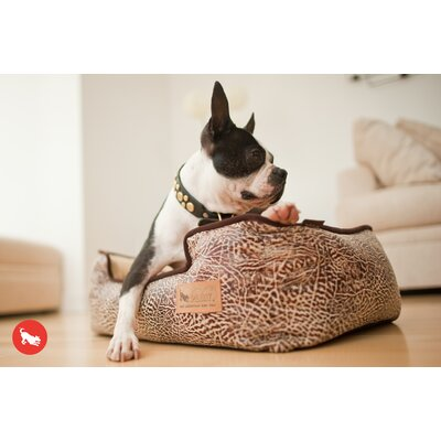 Original Savannah Lounge Dog Sofa Color: Sepia / Espresso, Size: Small (24 L x 19 W )
