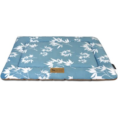 Colleen Chill Dog Pad Size: 24 L x 18 W, Color: Ocean Blue