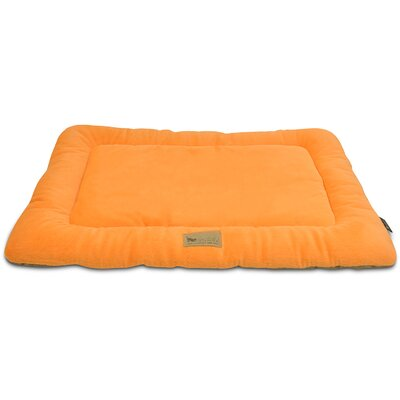 Chill Dog Pad Color: Pumpkin, Size: 42 L x 28 W