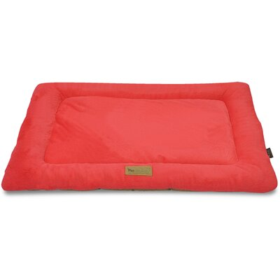 Chill Dog Pad Color: Vermillion, Size: 42 L x 28 W