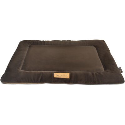 Chill Dog Pad Color: Chocolate, Size: 42 L x 28 W
