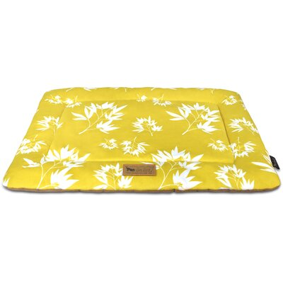 Chill Dog Pad Color: Bamboo Mustard, Size: 42 L x 28 W