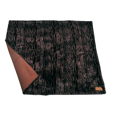 Luxe Throw Dog Snuggle Color: Brown
