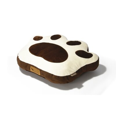 Big Foot Dog Pillow Size: Small (21.7 L x 16.5 W)