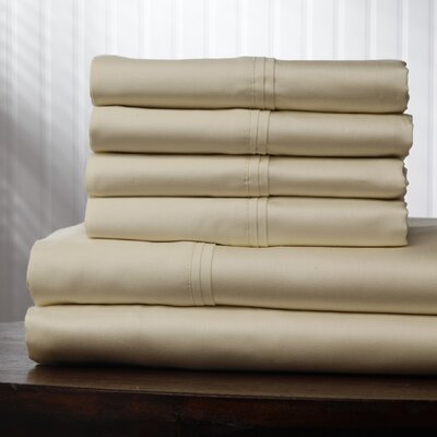 Leggett and Platt 400 Thread Count Single Ply Sheet Set - Size: Twin Extra Long, Color: Soothing Ivory at Sears.com